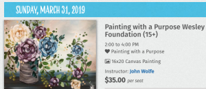 UA Little Rock Wesley Foundation to host Painting with a Purpose