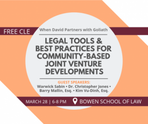 Business Innovations Legal Clinic hosts free course on joint ventures in community development