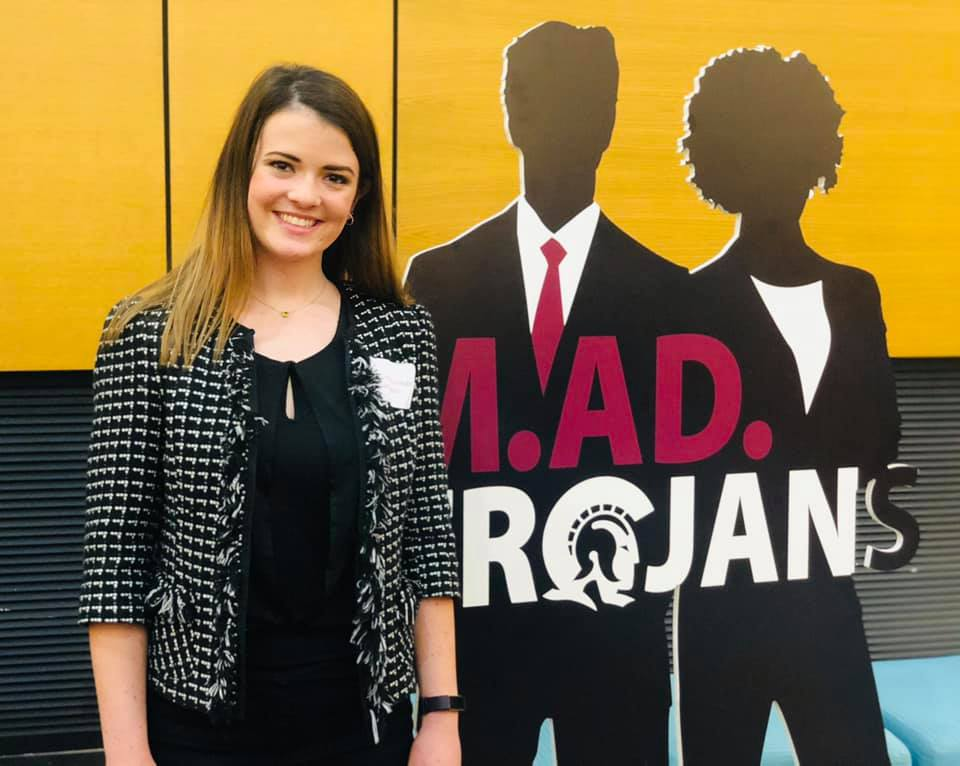 Claire Herman, a sophomore economics major from Bigelow, came out on top of the Sold in 60 Seconds competition on March 8, beating out nearly 50 other UA Little Rock students who participated in the event.