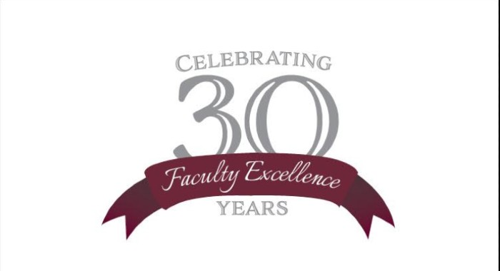 The University of Arkansas at Little Rock will celebrate the 30th anniversary of the Faculty Excellence Awards by honoring 17 of its top faculty members at 5:30 p.m. on Thursday, April 11, in the College of Engineering and Information Technology Auditorium.