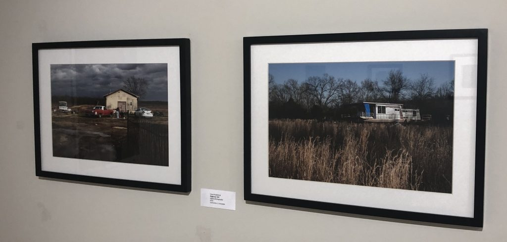 "Gwen Kudabeck photographs ""Highway 365"" and ""Highway 270"""