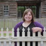 Nicole Ursin, the 2019 Whitbeck Scholar Award winner, has worked at the Arkansas Historic Museum for two years.