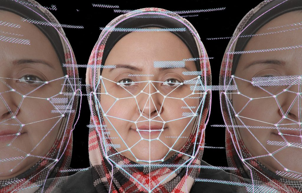 Suzan Anwar is a graduate student researching real-time facial recognition and eye-gaze estimation. Photo by Ben Krain.