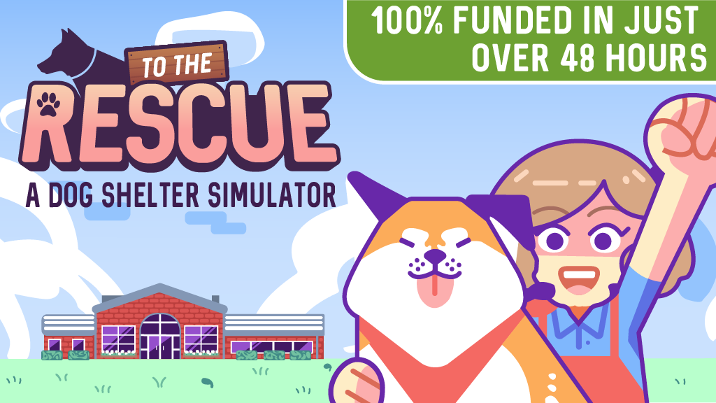Two University of Arkansas at Little Rock students are in awe over all the support shown for their dog rescue shelter simulation game, whose $16,000 fundraising campaign on Kickstarter was reached in just over 48 hours.