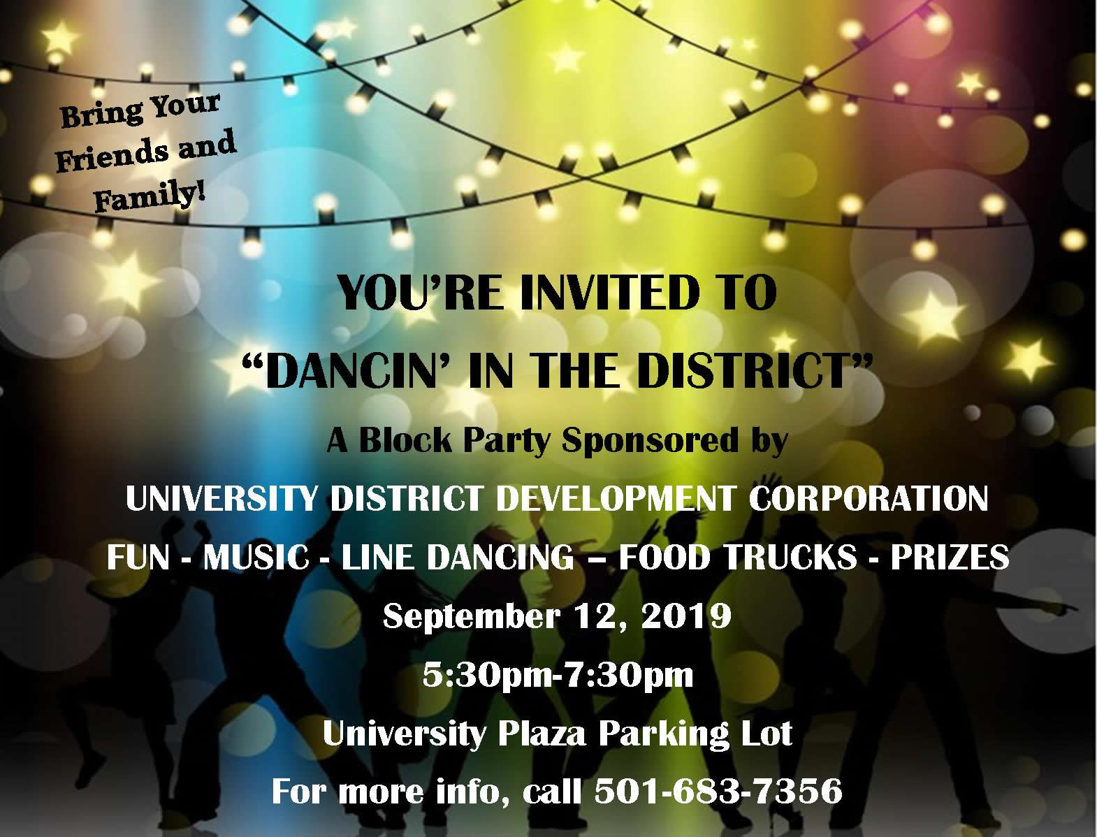 University District block party