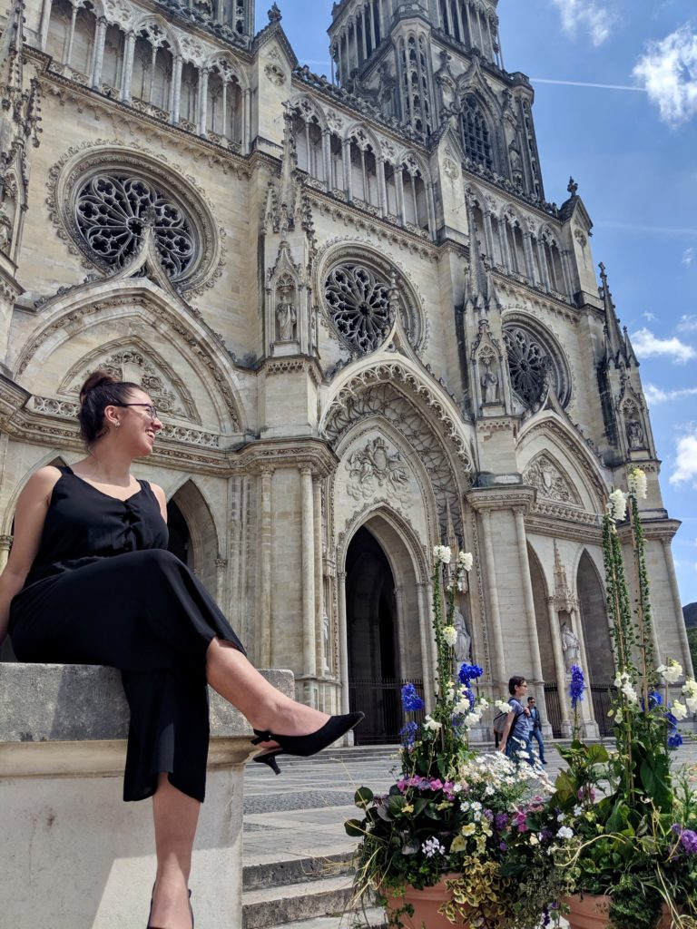 Emily Fendley visits France.