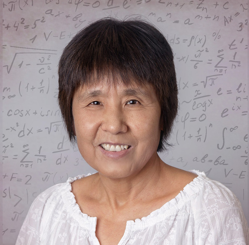 Dr. Xiu Ye, a professor of mathematics, has donated $20,000 to the Department of Math and Statistics to provide professional development opportunities for faculty and students. Photo by Ben Krain.