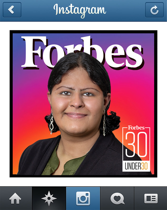 UA Little Rock business marketing student Shibani Lal was one of 30 students chosen nation wide as a Forbes 30 Under 30 Scholar. Lal has a digital media marketing business. Photo by Ben Krain.