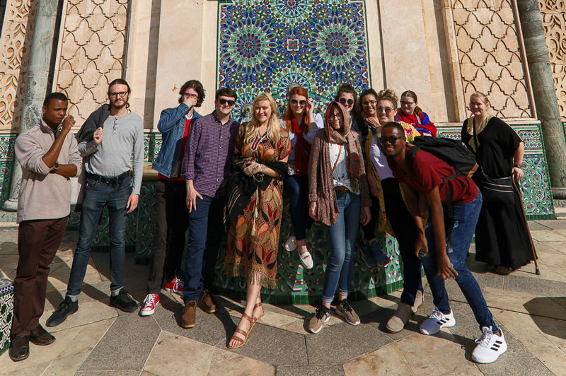 UA Little Rock Students Compete in Morocco