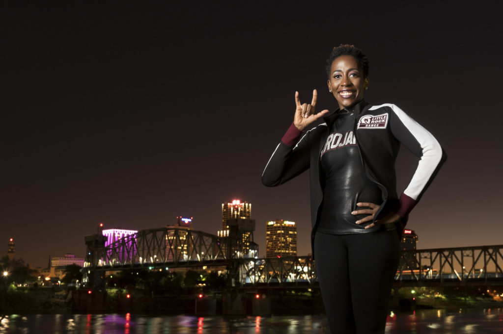 Photo of Brandy Mimms by Lonnie Timmons III.