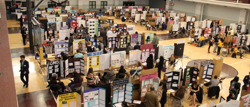 Photo of a science fair