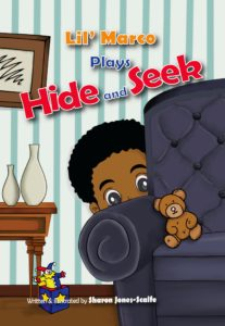 """""""Lil' Marco Plays Hide and Seek"""" will be released May 3 by Frog Pond Publishing."""