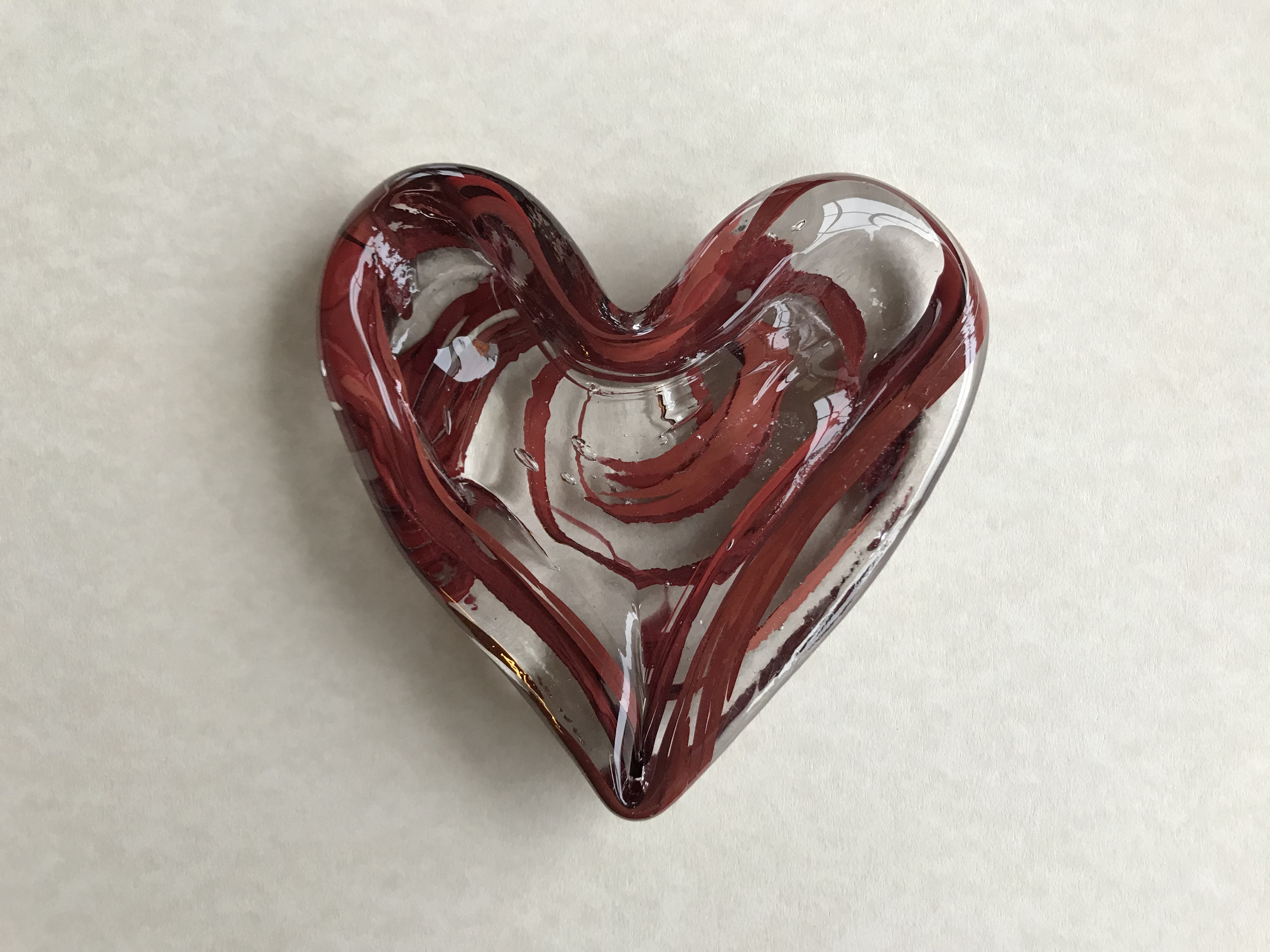 The SGA Faculty Appreciation Awards will be presented annually to one faculty member in each of the university's colleges. The award is a one-of-a-kind, handmade glass heart created by Pine Bluff glass artist James Hayes in the colors of UA Little Rock.