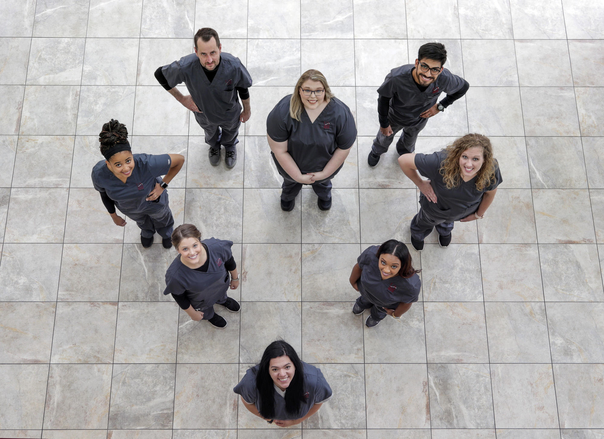 UA Little Rock nursing students
