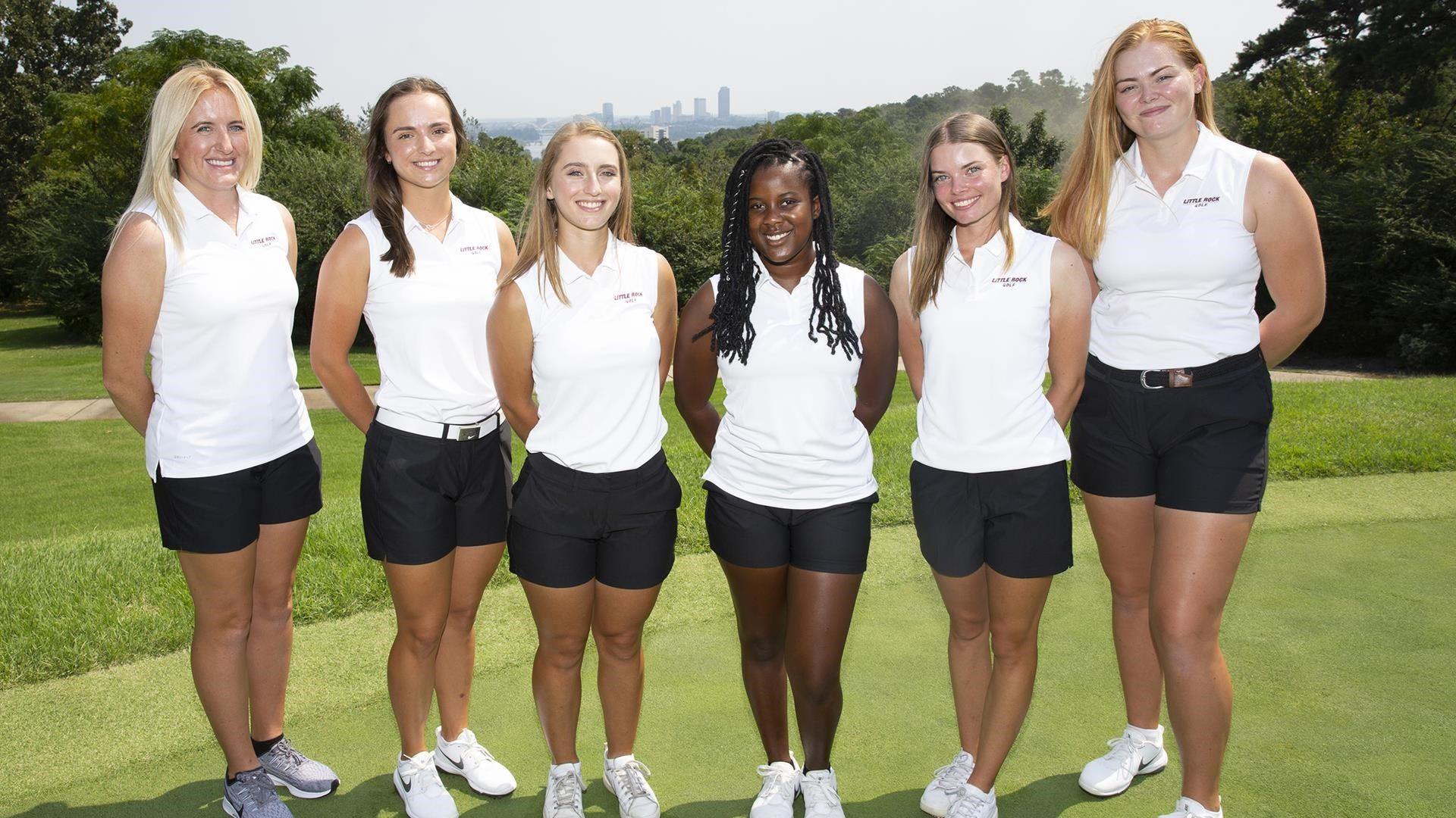Little Rock Women's Golf Team