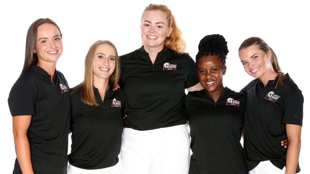 UA Little Rock women's golf team