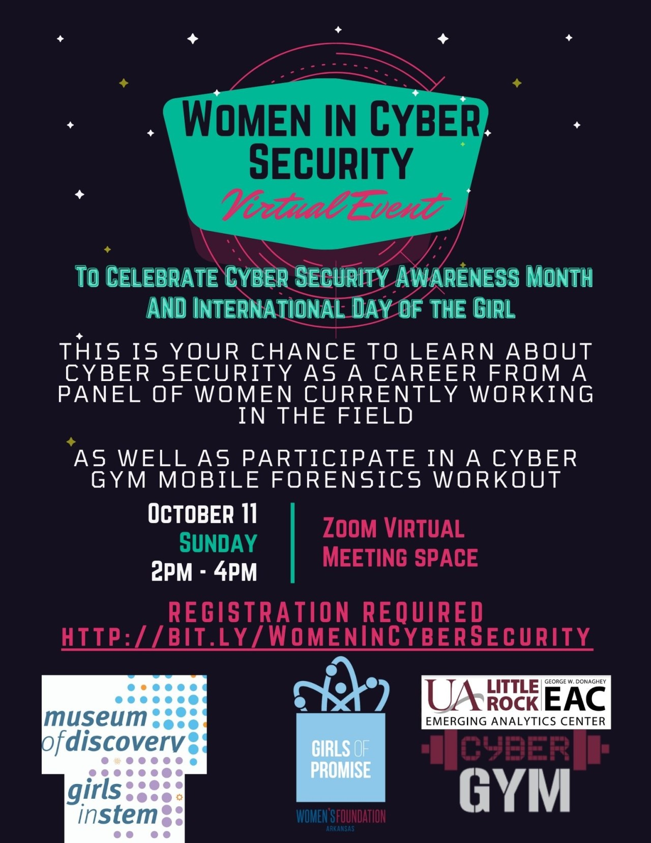 Women in Cybersecurity Virtual Event