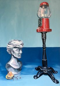 """""""The Bust and the Gumball Machine"""" by Carley Brown"""