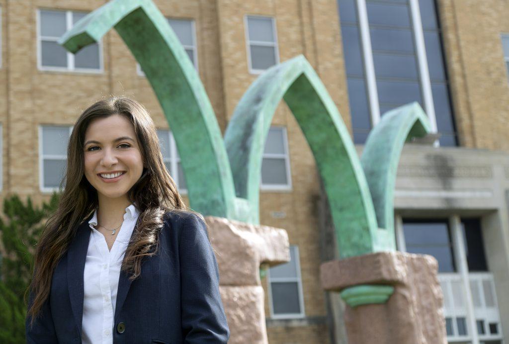 Mirella Gallardo is a first generation student working on a law degree at UA Little Rock William H. Bowen School of Law.