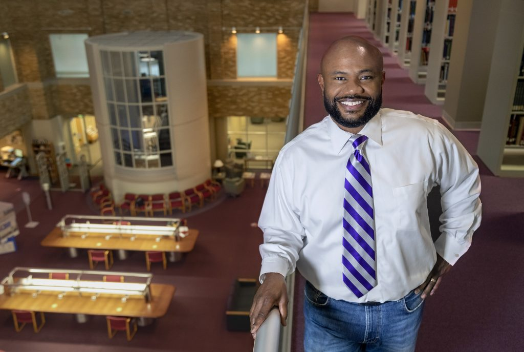 Philip Hood is a first generation student working on a law degree at UA Little Rock William H. Bowen School of Law.