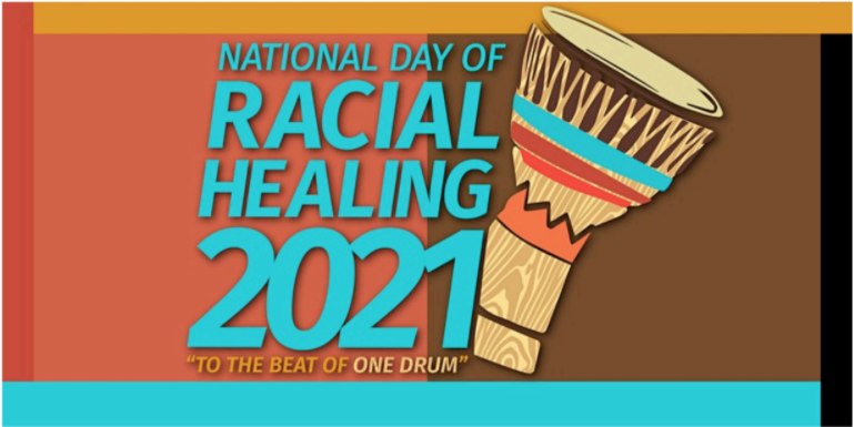 The National Day of Racial Healing will be observed Jan. 19.