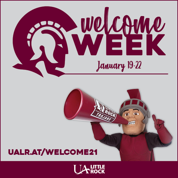 Welcome Back Week will be Jan. 19-22 for the spring 2021 semester.