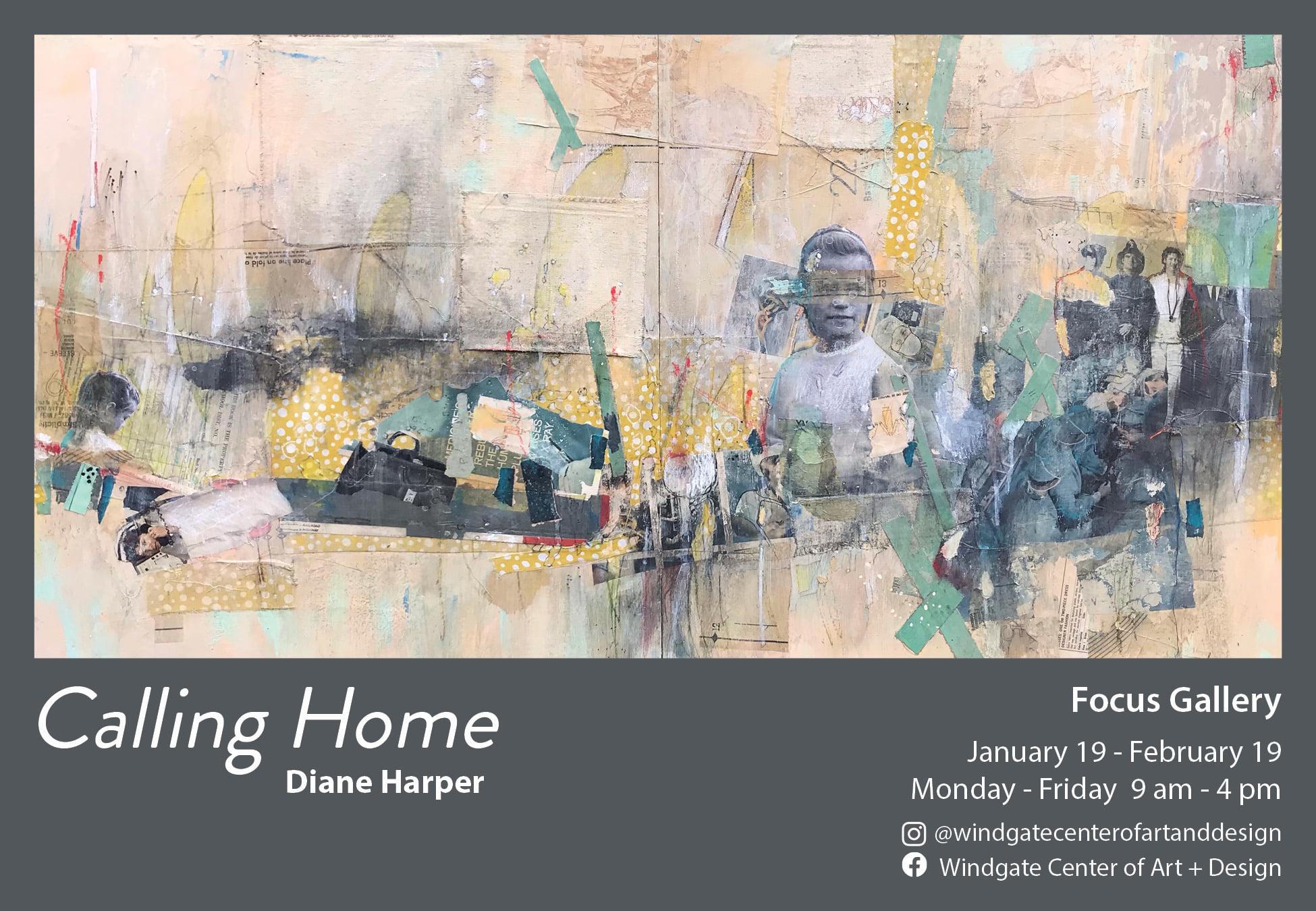 The University of Arkansas at Little Rock is hosting an exhibit by alumni artist Diane Page Harper until Feb. 19.