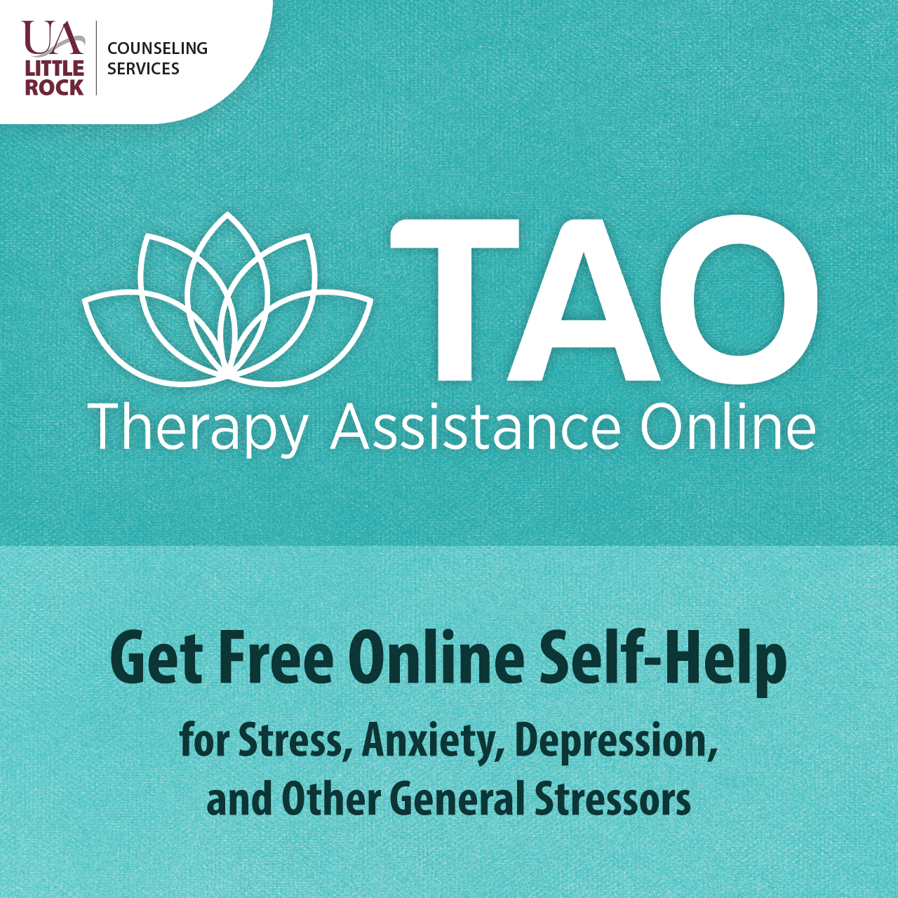 UA Little Rock addresses mental health challenges brought on by the pandemic by adding TAO Connect's suite of digital mental health tools to its counseling center's offerings.