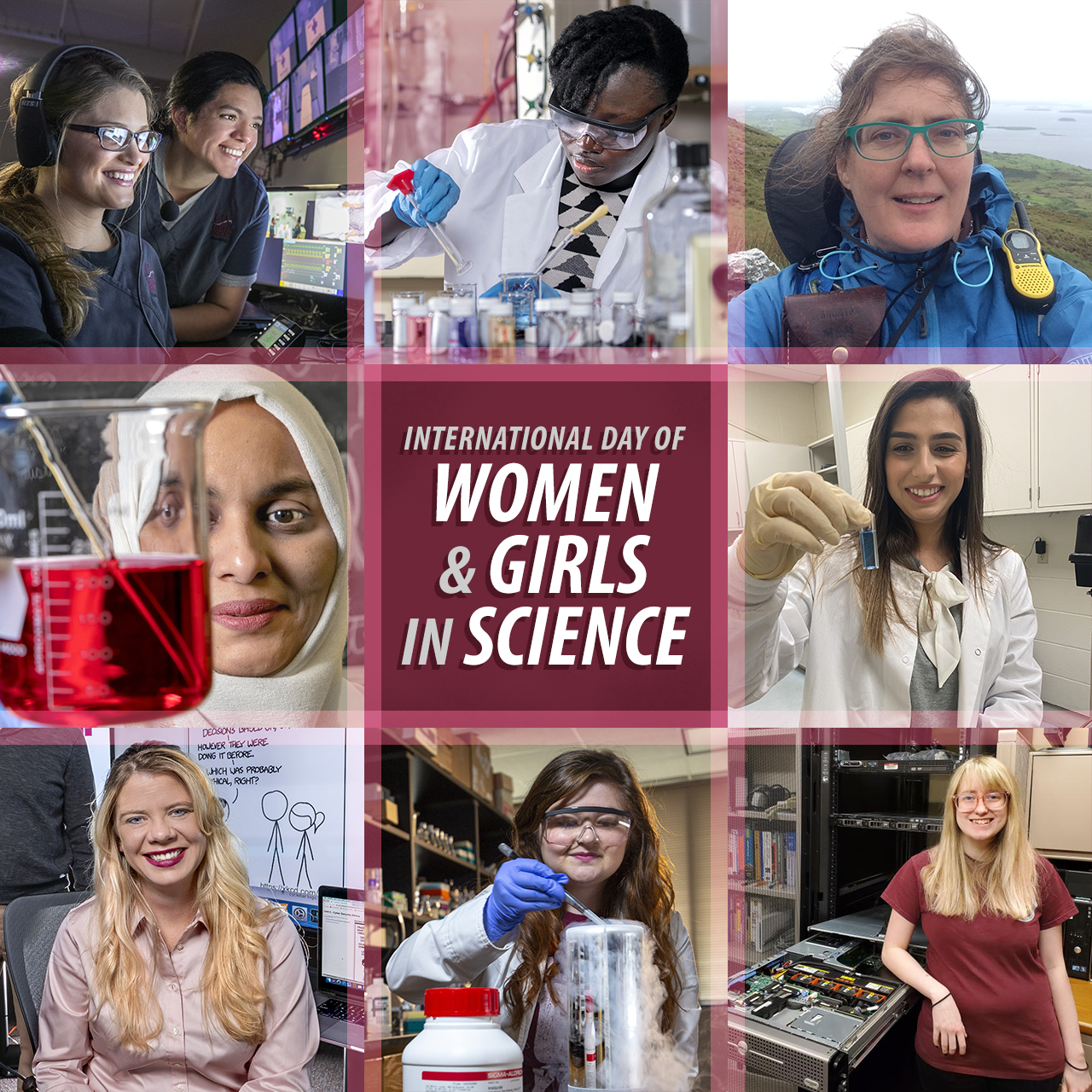 February 11 is International Day of Women and Girls in Science.