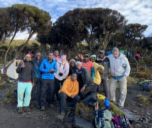 Coach Wylie on Mount Kilimanjaro