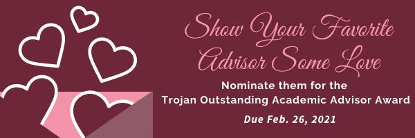 Outstanding Academic Advising Award