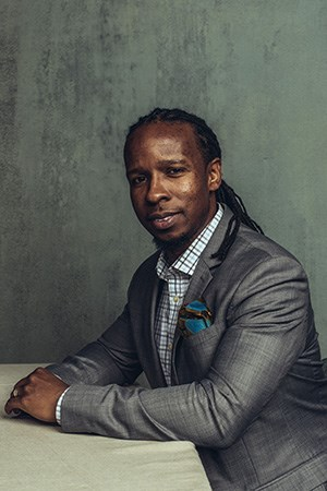 Photo of Ibram X. Kendi by Stephen Vosssmall