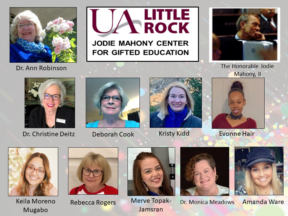 Members of the Jodie Mahony Center are shown during the AGATE Awards Ceremony.
