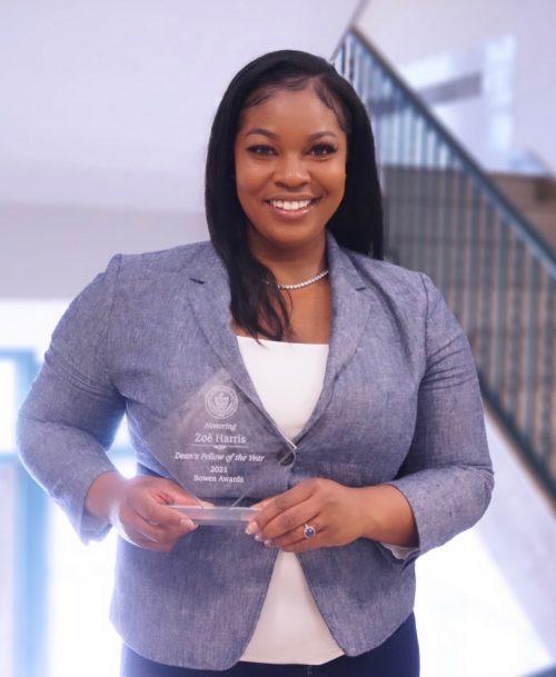 Photo of law student Zoe Harris