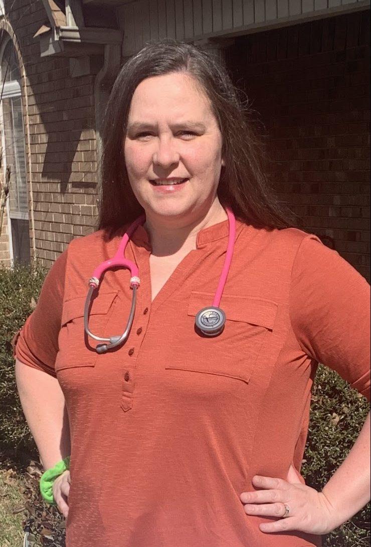 The University of Arkansas at Little Rock recognizes nursing student Melissa Gargus in celebration of National Nurses Week May 6-12.