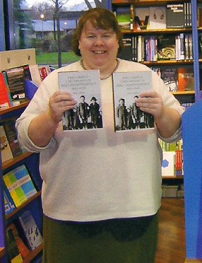 Dr. Moira Maguire celebrates the launch of her book in Ireland in 2010.