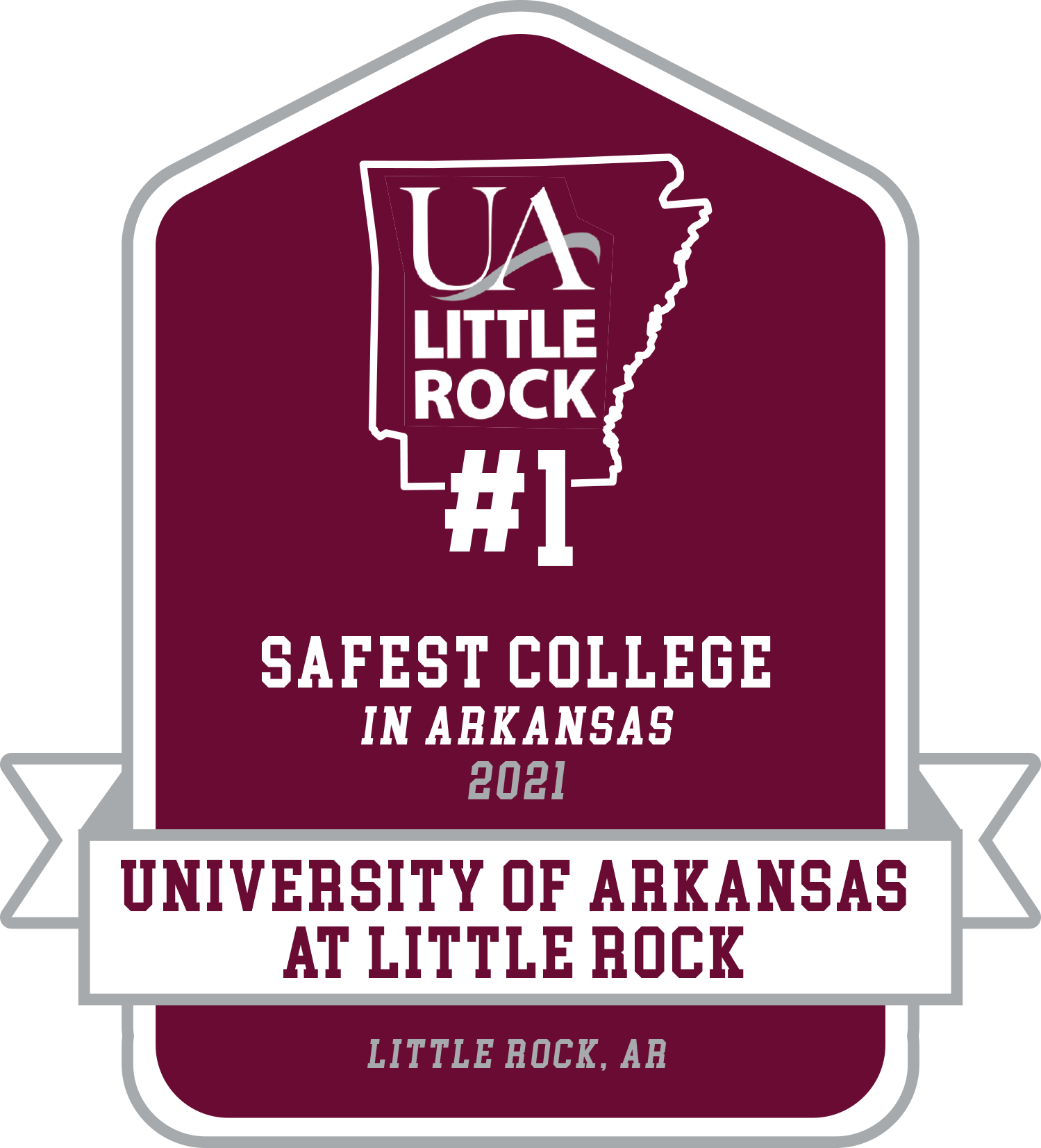 The University of Arkansas at Little Rock has been named the safest college campus in Arkansas by Your Local Security's 2021 Safest College Campuses in America report.