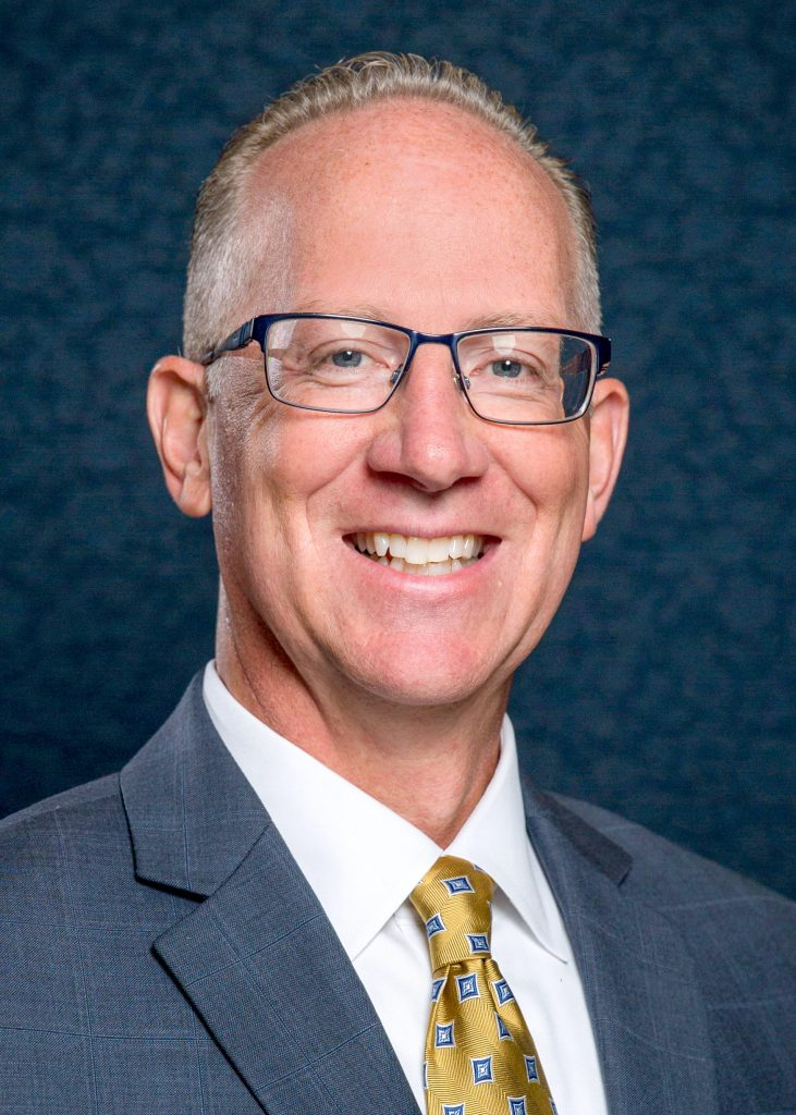 Gerald Ganz Jr. is UA Little Rock's new vice chancellor of finance and administration.