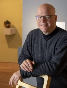 Brad Cushman, UA Little Rock Art Department Gallery Director and Curator- Photo by Benjamin Krain