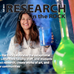 The University of Arkansas at Little Rock has released the 2021 edition of Research in the Rock, the university's official research magazine.