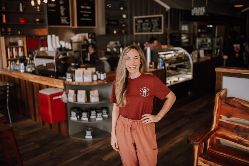 Amy Moorehead, owner of Nexus Coffee, is one of the women entrepreneurs speaking in an upcoming ASBTDC panel.