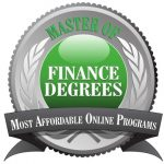 Master of Finance Degrees Most Affordable Online Programs Badge