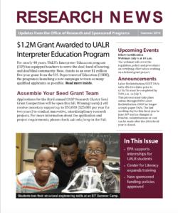 research news summer 2016