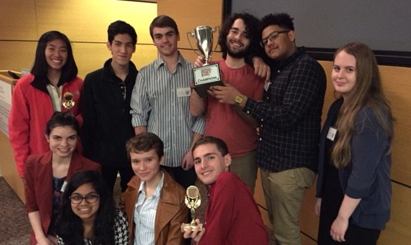High School Ethics Bowl Champions 2016