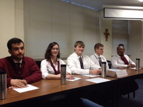 competing at the Central States Regional Ethics Bowl 2015