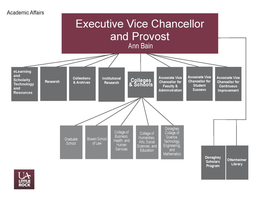Organizational Chart Provost 2020