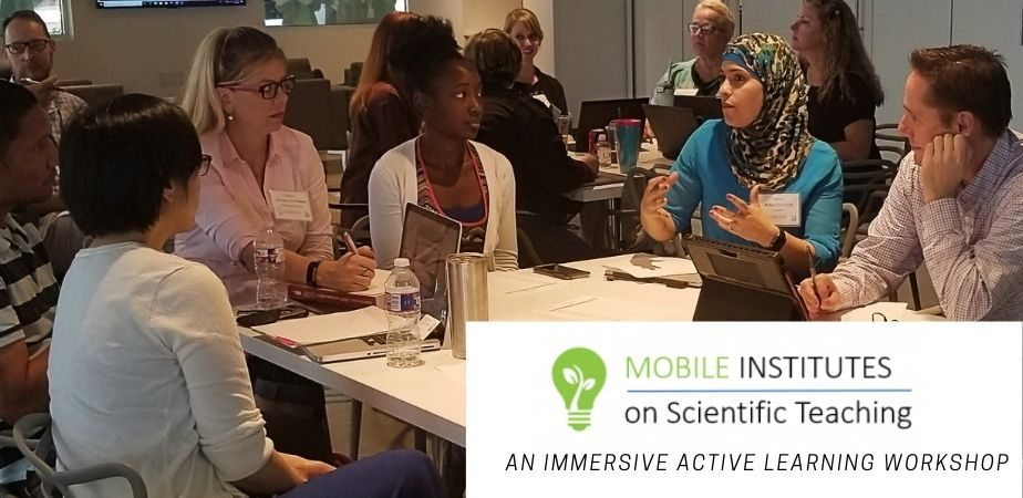 Mobile Institute on Scientific Teaching: An Immersive Active Learning Workshop