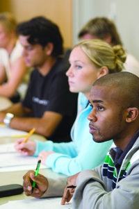 Students in the Classroom at UALR