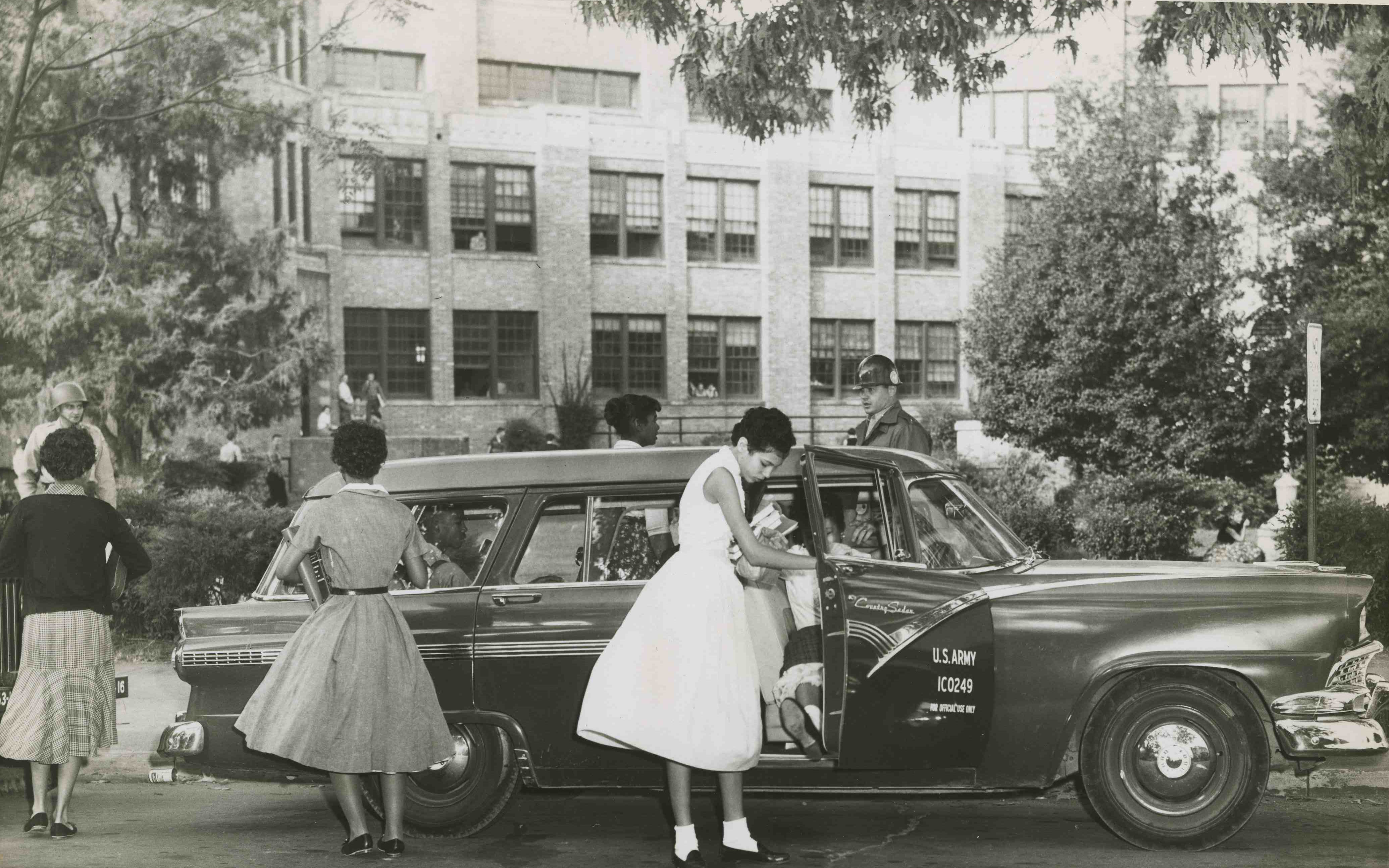 Honorees: Little Rock Nine and Central High