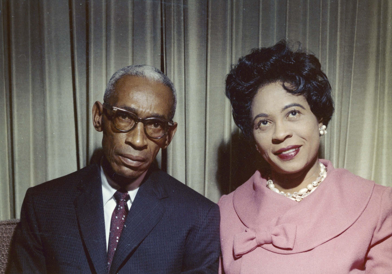 L.C. and Daisy Bates (Courtesy of Wisconsin Historical Society, WHS - 71226